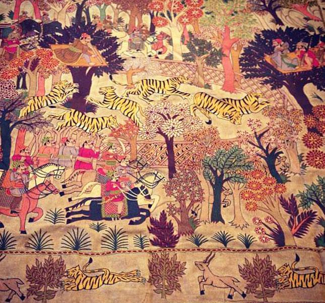 Ganesh Handicraft Emporium Udaipur Rajasthan India Embroidery